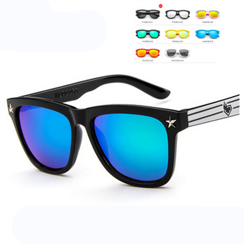 Fashion Round Kids Sunglasses Children Sun Glasses Baby Vintage Eyeglasses Girl Cool 8 Color oculos infantil de sol2016 Costa Del Mar