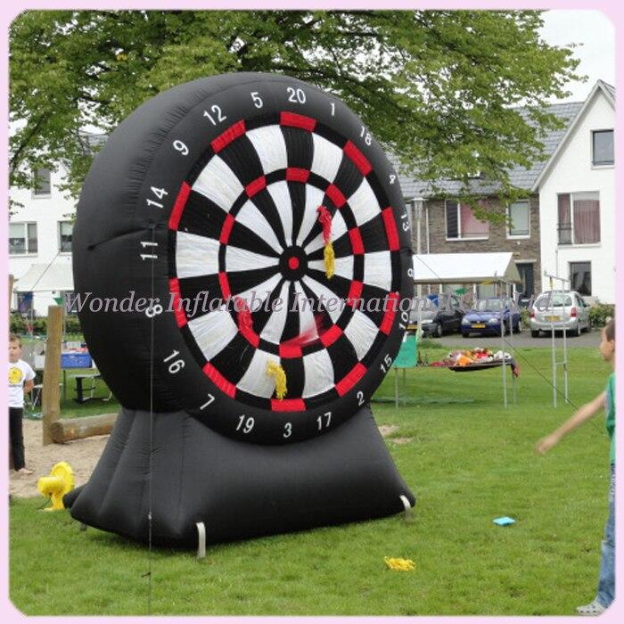 Niños N adultos gigante oxford target shoot deporte dardo tablero inflable para juego de dardos inflables