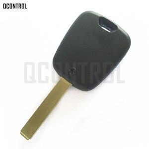 Image 2 - QCONTROL Car Door Lock Remote Key Suit for CITROEN C2, C3 Pluriel 2003   2006, 2 Buttons