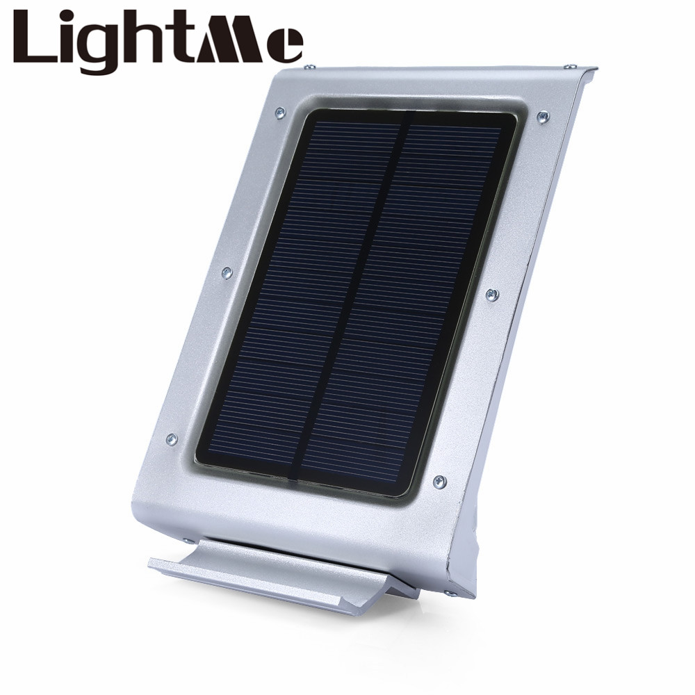 New Modern Solar Powered Led Lamp 46 LEDs Human Body Induced LED Light Motion Induction Lamp Home Garden Emergence Use