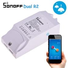 Sonoff double R2 2CH Wifi commutateur intelligent télécommande sans fil commutateur universel Module minuterie commutateur contrôleur de maison intelligente
