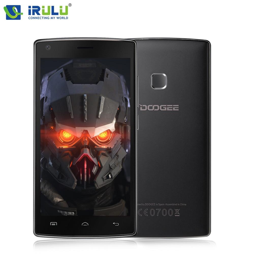 IRULU Doogee X5 Max 3 Г телефон 5.0 дюймов MTK6580 Quad Core Android 6.0 Экран HD Dual SIM Отпечатков Пальцев ID 4000 мАч