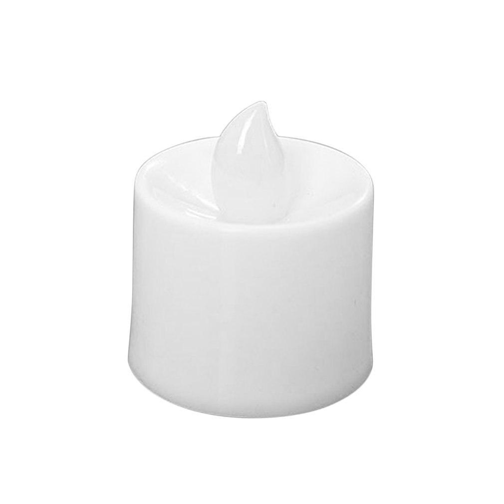 Многоразовый светодиодный светильник без пламени на батарейках, Романтический Красочный светильник для свадьбы, дня рождения, вечеринки