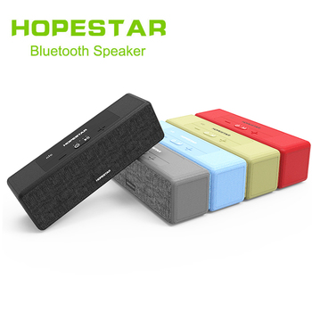 HOPESTAR A5 Bluetooth Wireless Speaker waterproof Outdoor Bass Effect Home theater Power Bank For TV Phone xiaomi PC NFC TF USB image
