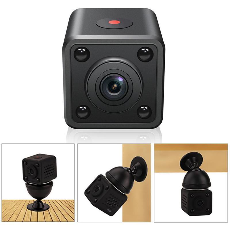 1 Stks HDQ9 Mini Wifi IP Camera 1080 P HD Draadloze Nachtzicht DV DVR - Camera en foto