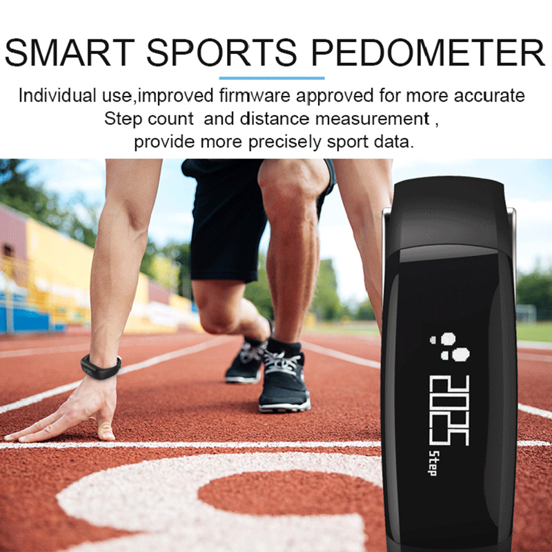5 Χρώματα Pedometer Ψηφιακή Tracker LCD Fitness - Fitness και bodybuilding - Φωτογραφία 5