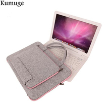 Laptop Bag 11.6 13.3 14 15.6 17 inch Laptop Sleeve Pouch Cover Case for Macbook Air 13 Pro 13 15 Notebook Briefcase Handlebag все цены