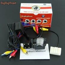 BigBigRoad автомобилей заднего вида Парковка Камера с адаптером для Jeep Wrangler Rubico сахара Unlimited 2013 2014 2015 2016