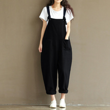 f006e667f72ff 5XL Plus Size Bodysuit 2019 Casual Rompers Womens Jumpsuits Sleeveless  Backless Casual Loose Solid Overalls Oversized
