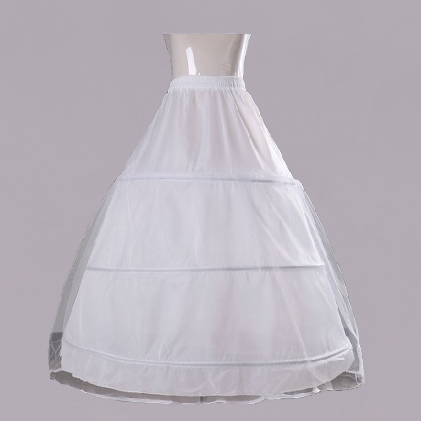 Free shipping wedding dress bridal gown a line petticoat for Tulle petticoat for wedding dress