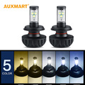 60w/pair H4 H13 Hi-lo Beam 3000k 6000k 6500k 8000k 10000k 6000lm LED Headlight Bulb H3 H11 H9 H7 9005 HB3 9006 40w/pair LED Bulb