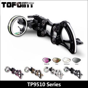 Bow and Arrow Archery Accessories TP9510 Professional Archery 1 Pin Bow Sight Micro-adjust Hunting Compound Bow Sights