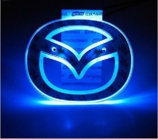 MAZDA 6 m6 m3 cresses car modified car lights ledled decoration lamp emblem backlight