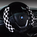 High quality car steering wheel cover winter warm plush box protective cover shipping