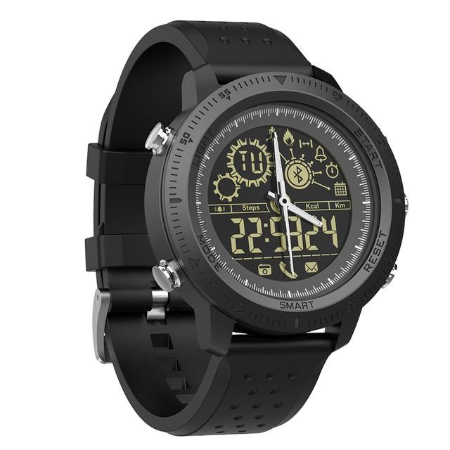 Waterproof NX02 Pedometer Message Reminder 610mAh Battery Smartwatch 1