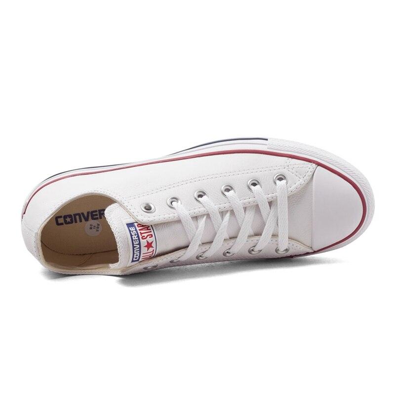 Nouveauté originale Converse classique toutes étoiles unisexe chaussures de skate en cuir baskets - 5