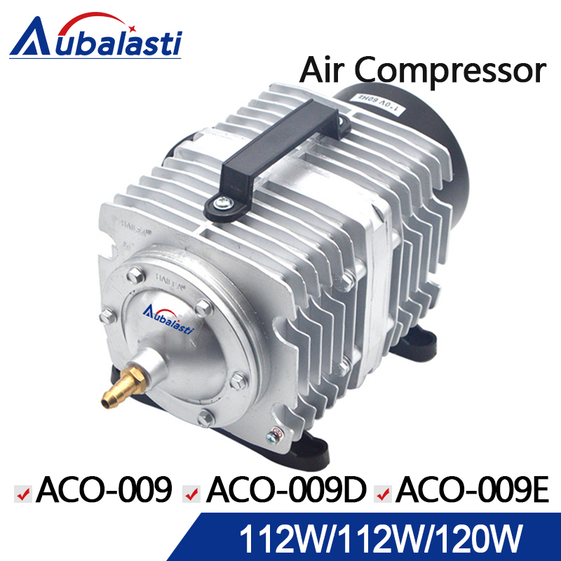 HAILEA Air Compressor Air Pump for CO2 Laser Engraving Cutting Machine ACO-009 112W ACO-009D 112W ACO-009E 120W