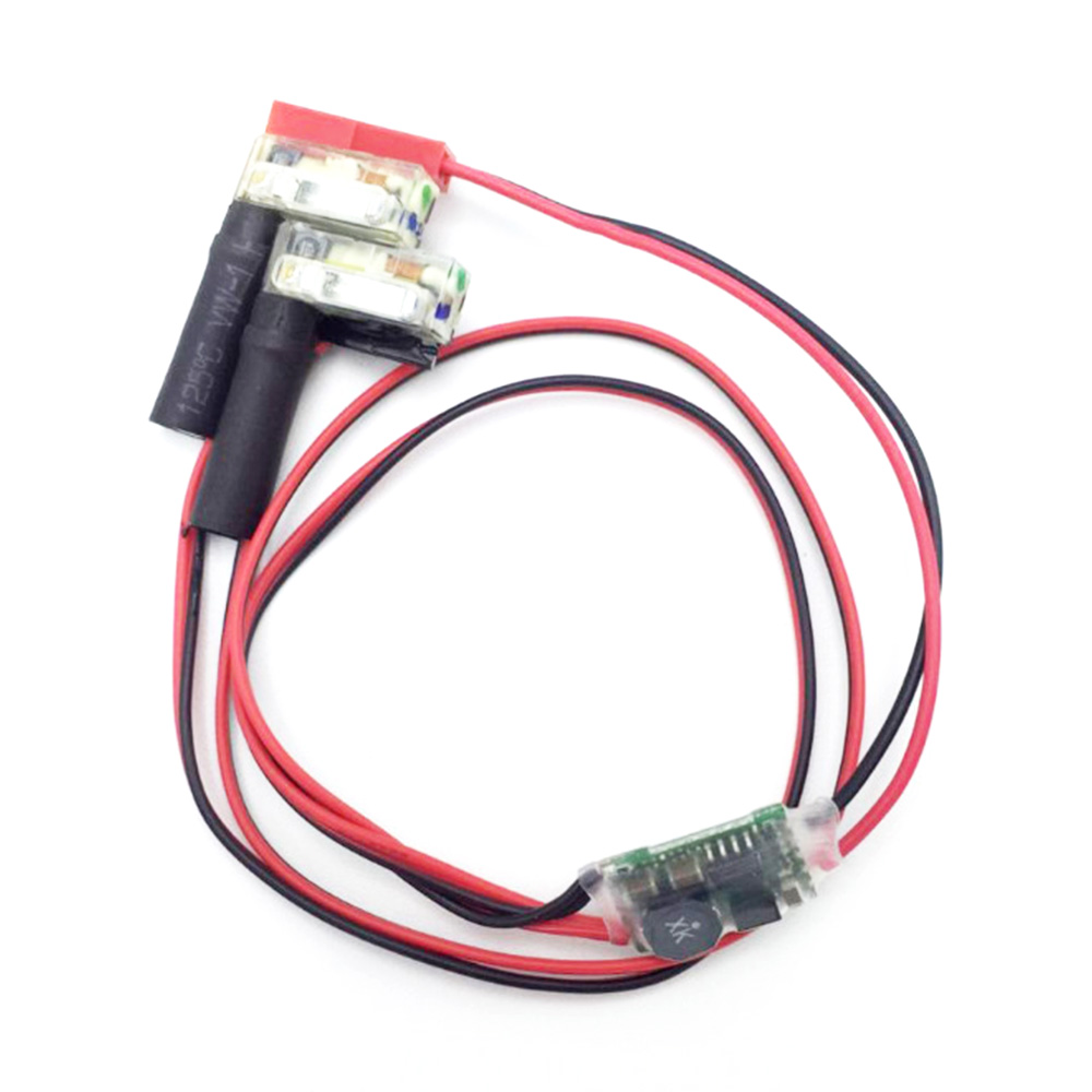 Image 4 - 1pcs Xenon Night Strobe Flash Light Automatic Power input 5V 26V wide voltage For FPV Multicopter RC Quadcopter Wholesale-in Parts & Accessories from Toys & Hobbies