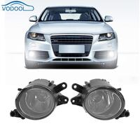 1pair Right Left Car Front Grille Light Front Fog Lamp Replacement For Audi A4 B6 1998