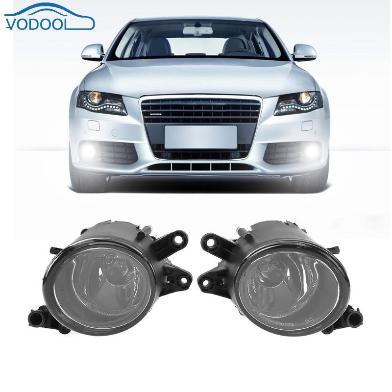 1 paire Droite Gauche Avant De la Voiture Grille Lumière Avant Brouillard Remplacement De La Lampe pour Audi A4 B6 1998-2004 Voiture style Complices