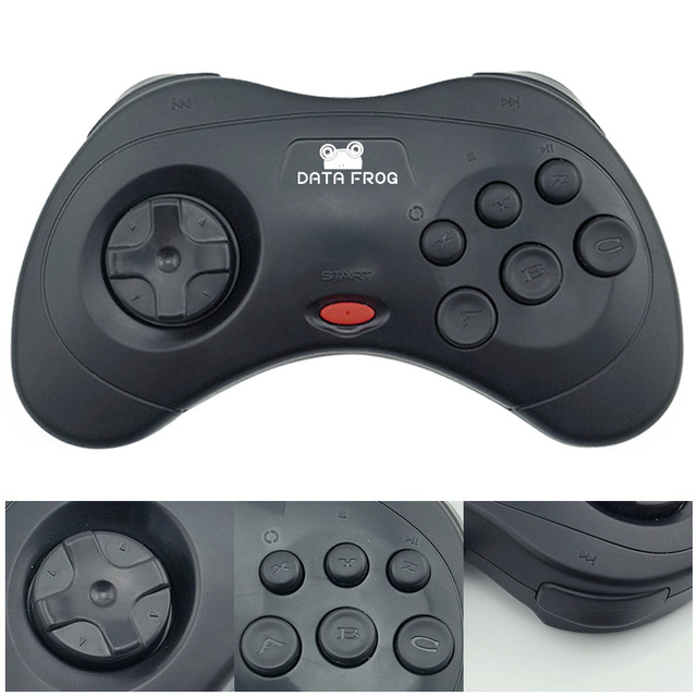 For PC Retro Handheld USB Gamepad Classic Controller For Saturn System Style High Quality Wired Game Controller Joypad For MAC