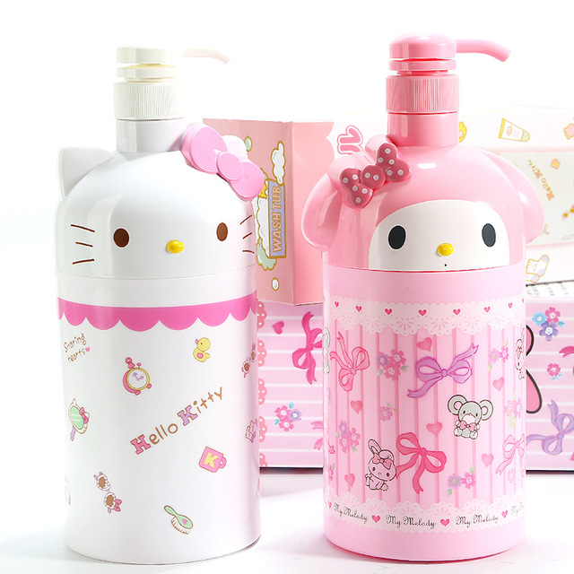 40% Melody Hello Kitty Plastic Ornaments Decorative Children Toys Magnificent Decorative Plastic Bottles For Shower