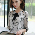 Missoov luxury brands designer Spring summer autumn style Chiffon blouse fashion ladies shirts women tops camisetas mujer