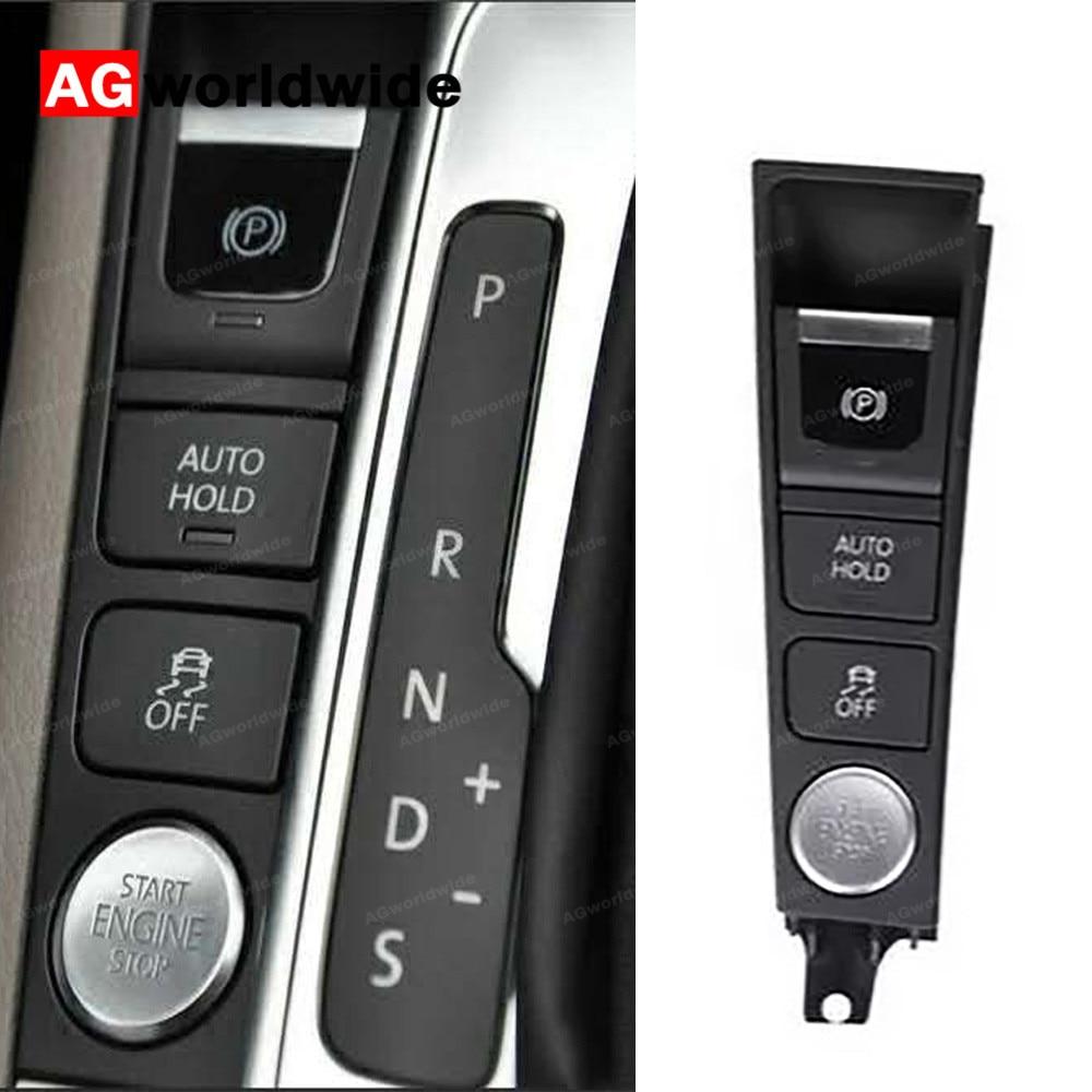 Engine Console Switch Start Stop ESP EBP AUTO HOLD Panel Fits VW Passat B7 CC