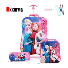 Kids Suitcase for Travel Luggage Suitcase for Girls Children Rolling Travel Luggage Bags School Backpack with Wheels Wheeled Bag 2 6 wheels boys trolley backpack wheeled school bag children travel luggage suitcase on wheels kids rolling book bag detachable