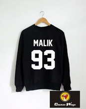 Zayn Malik Sweatshirt Long sleeve Crewneck Sweater shirt tumblr Unisex Women,Men shirts Clothing-E028
