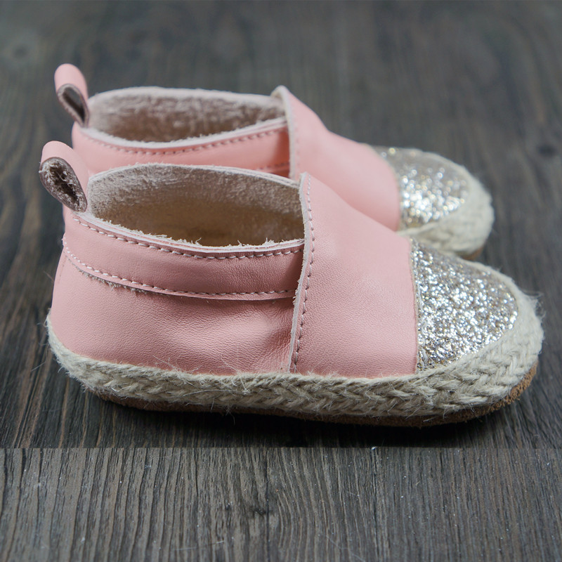 New baby shoes First Walkers Genuine leather weaving Toddler baby moccasins bling boy girls Shoes 11.5-14.5cm Free shipping 2017 summer new style baby girl boy first walkers breathable mesh soft sole hook