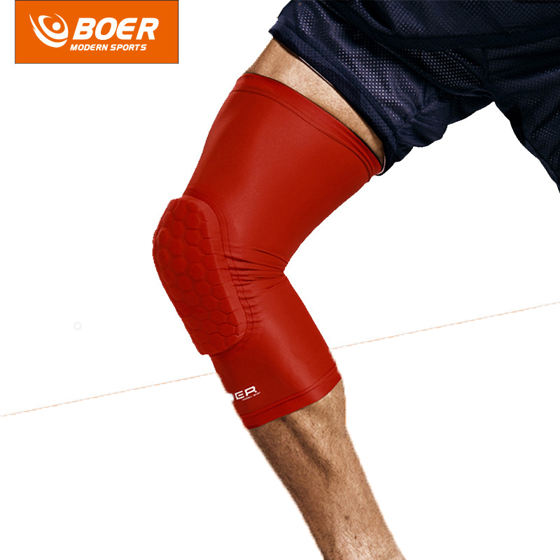 1 Piece Colorful Basketball knee pads Football brace support Leg Sleeve knee Protector Compression knee Protection Sport Safety