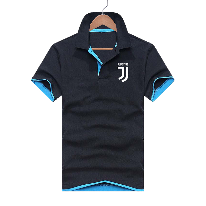 Summer Men's   Polo   Shirt Casual Sports Printing Multi-color Boutique Short-sleeved Shirt