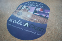 Custom Print Floor Decal Stickers, 30X36inches, 500pcs