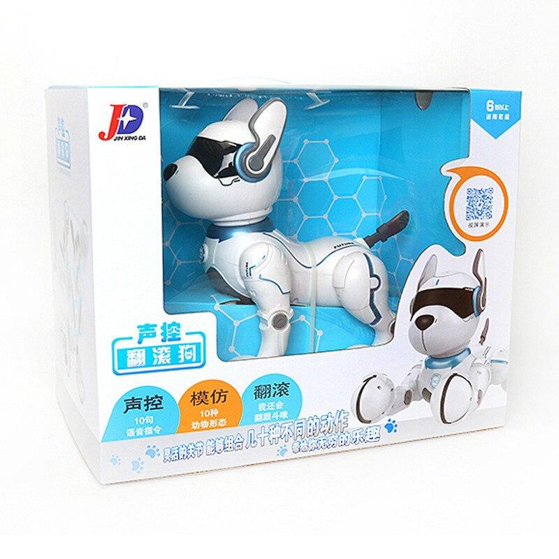 2,4G Control remoto inalámbrico inteligente Robot perro niños juguete inteligente parlante Robot perro juguete electrónico mascota cumpleaños regalo - 4