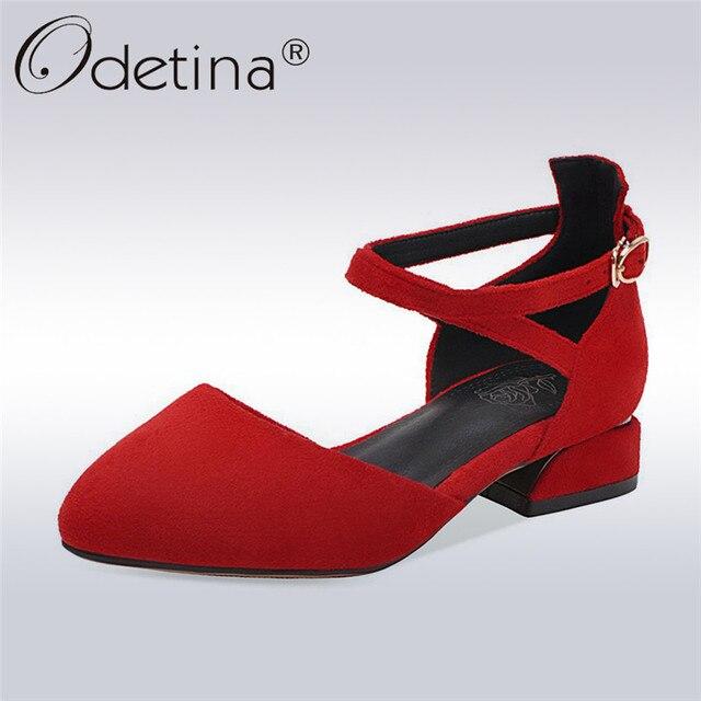 Odetina/Новая модная женская обувь из натуральной замши с пряжкой и перекрестными ремешками на лодыжках D'orsay на плоской подошве, модельные туфли с острым носком, балетки на плоской подошве
