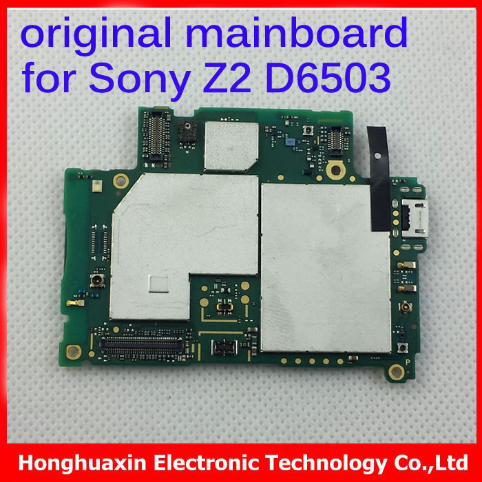1000 original motherboard for sony xperia z2 d6503 good quality full function main board logic. Black Bedroom Furniture Sets. Home Design Ideas