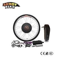 Электрический велосипед Conversion Kit 20 24 26 28 29 В 36 в 250 Вт двигатель с батарея Bicicleta Ebike комплект для MTB заднее колесо