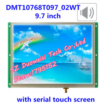 high light DMT10768T097_02w  serial voice playback DGUS wide viewing angle touchs creen