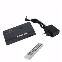 HDMI 1080 P DVB-T/DVB-T2 Récepteur TV Tuner VGA AV CVBS et DVB T/T2 Numérique HDTV TV Box Avec Télécommande TNT DVBT2