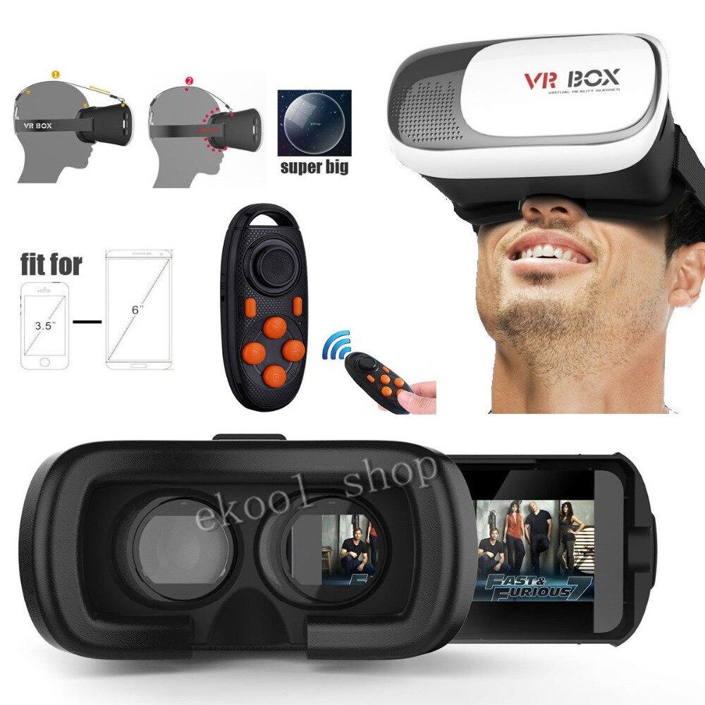 3D виртуальной реальности Google видео игры <font><b>VR</b></font> коробка очки с <font><b>Bluetooth</b></font> pad