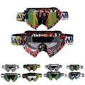 Motorcycle Goggles Vintage Dirt Biker Off Road Racing Eye Wear Motocross Brille Gafas Adjustable Helmet Glasses Clear/Smoke Lens