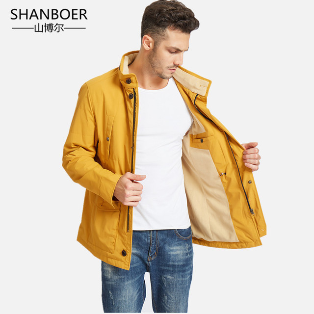 Best Price  Winter Jacket men hooded Slim Korean Parka Hombre long Jacket coat cashmere mens windbreaker Parkas cotton youth clothing