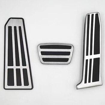 Frizione auto del Pedale del Freno Resto Del Piede Pedali Coperture Per Toyota Camry Nuovo 2018 2019 Avalon RAV4 2019 Per Lexus ES GS