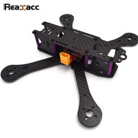 Realacc X4R X5R X6R 180mm 220mm 250mm 4mm Arm Carbon Fiber Frame Kit With BEC Output