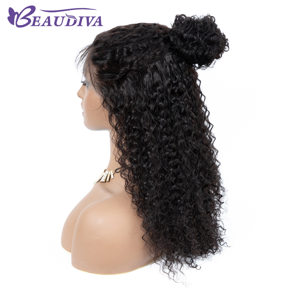 360 Brazilian Remy Human Hair Lace Wigs Bleached knot Sapphire Pre Plucked Lace Front Human Hair