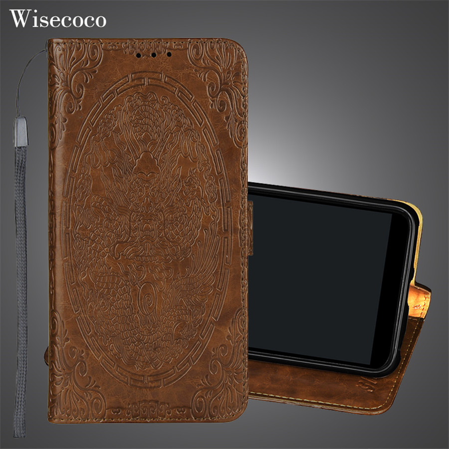 Luxury Leather Flip Case for <font><b>Xiaomi</b></font> Mi A2 A1 6x 5x Xiomi Redmi S2 Y2 y1 Note 4 4x 5a 5 Pro Plus Wallet stand card holder Cover image