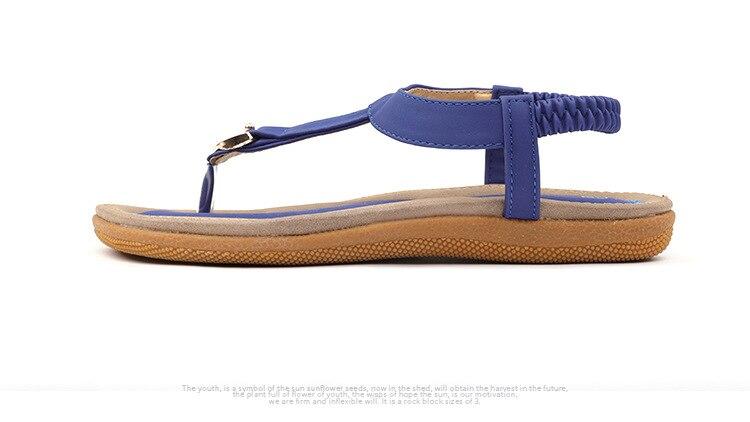 HTB1V36tCHSYBuNjSspfq6AZCpXaY BEYARNE size 35-42 new women sandal flat heel sandalias femininas summer casual single shoes woman soft bottom slippers sandals
