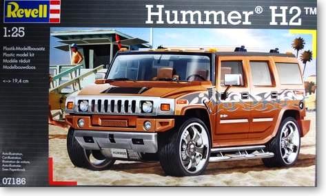1/25 Hummer H2 Assembled Model 07186 rastar 28500 hummer h2 page 3