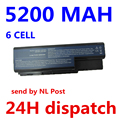 5200MAH For Acer Aspire Battery 5520 5720 5920 6920 6920G 7520 7720 7720G 7720Z AS07B31 AS07B41 AS07B42 AS07B72 CONIS72